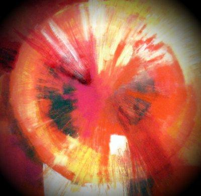 Mandala Rote_Klangschale
