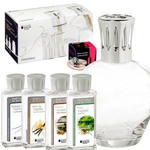 Lampe Berger Starterset XXL Ronde inkl. Duftpaket mit 4x Parfum de Maison / Geschenkset