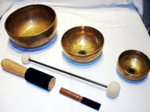 3 Schalen Klangtherapie