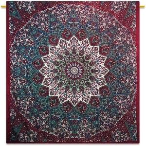 Handicrunch Mandala Indische Picknickdecke Hippie Bohemian