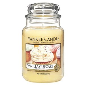 Yankee Candle Vanilla Cupcake Grosses Jar