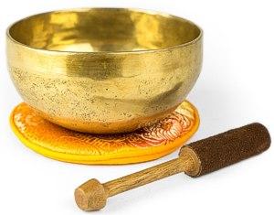 Traditionelle Klangschale