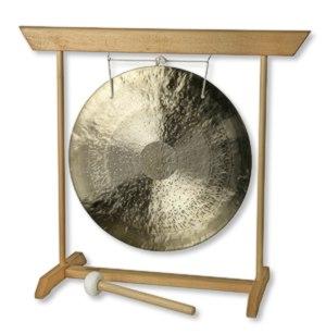 Gong mit Ständer